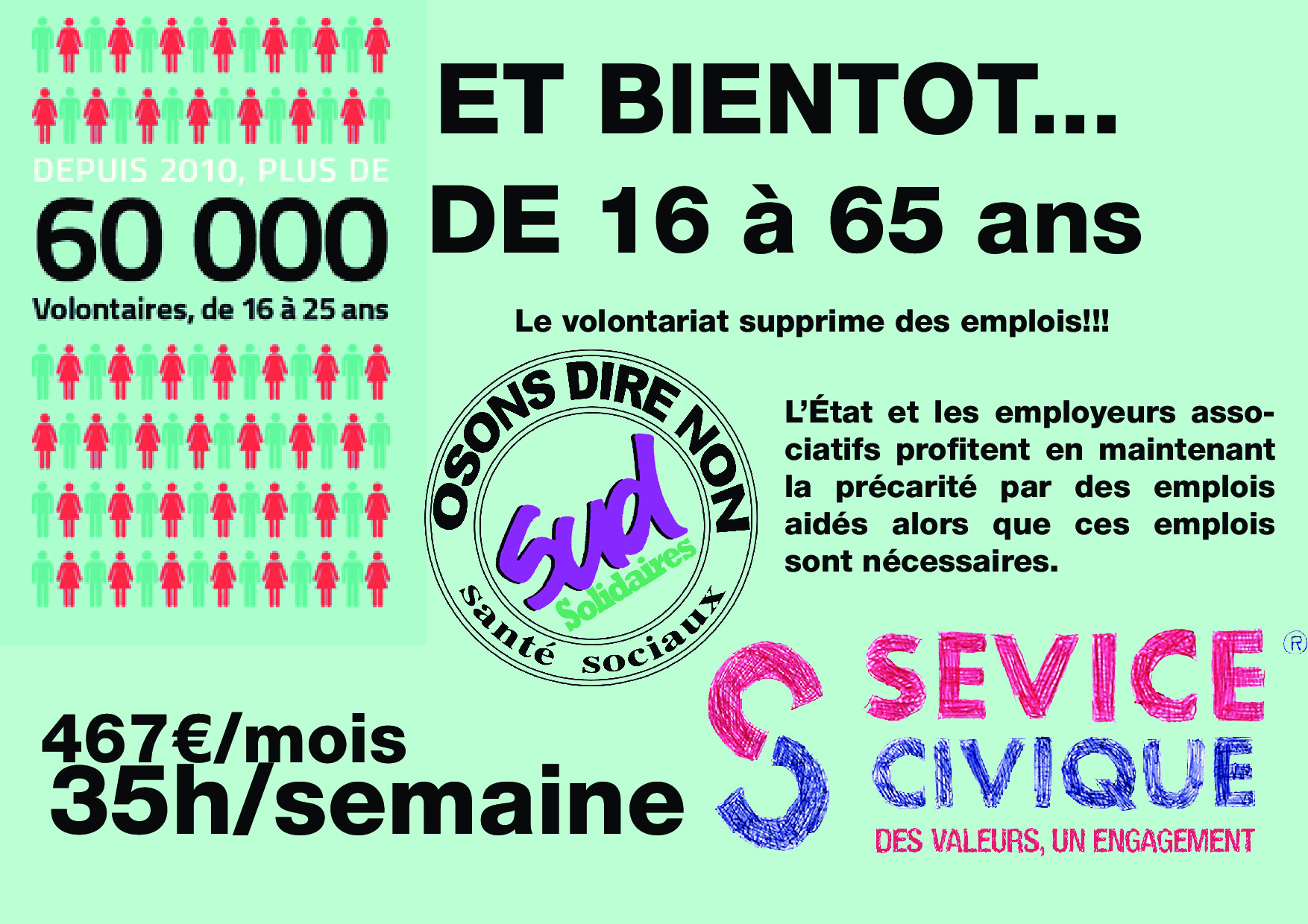 Affiche Sevice Civique