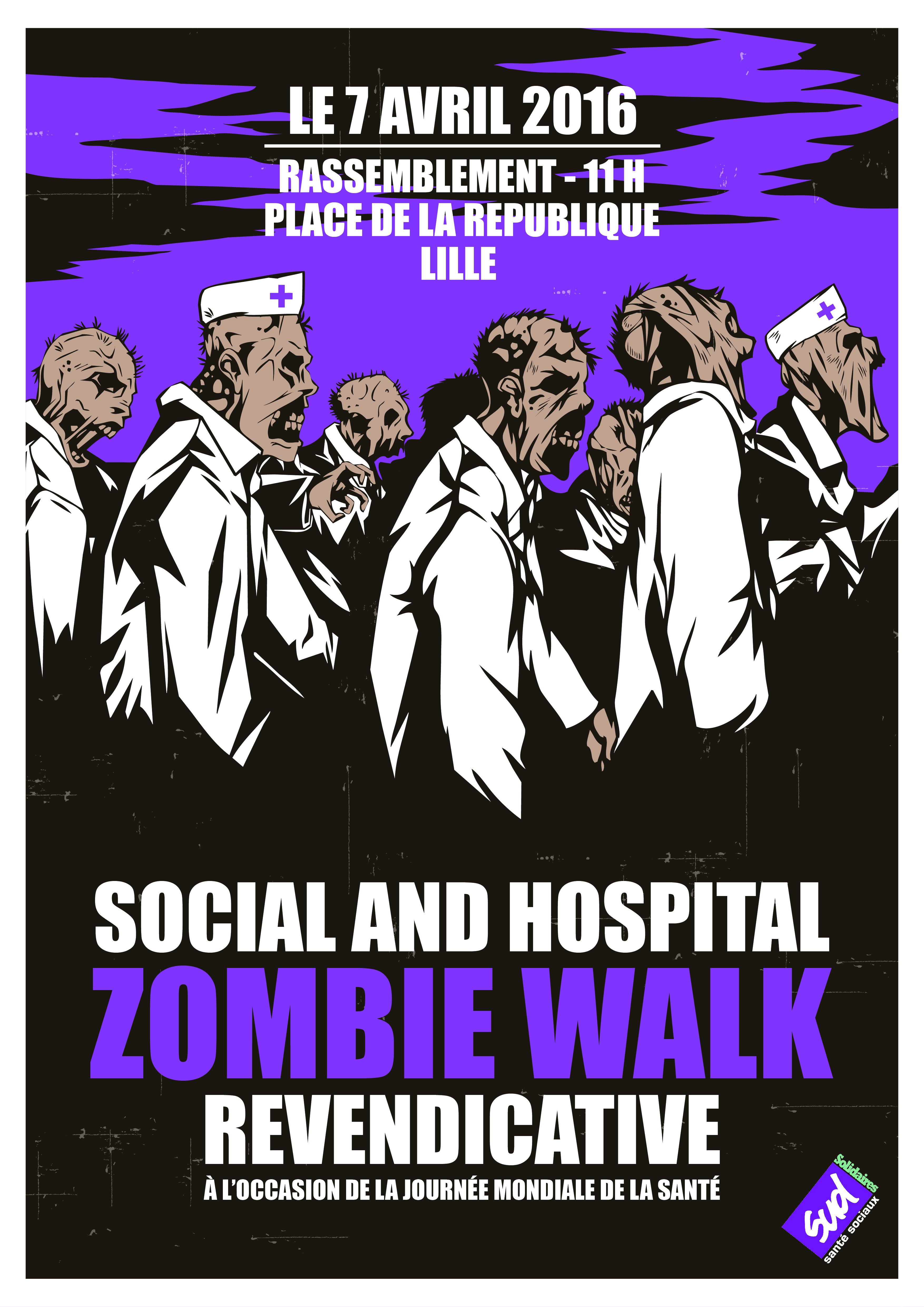 Social and Hospital Zombie Walk