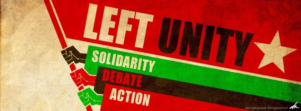 Message de Solidarité de Left Unity, Grande-Bretagne
